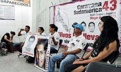 Ayotzinapa: padres de normalistas desaparecidos visitan hoy Córdoba