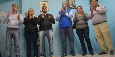 IMPULSA LA REELECCION DE BUZZI : Eliceche y Zonza Nigro inauguraron local