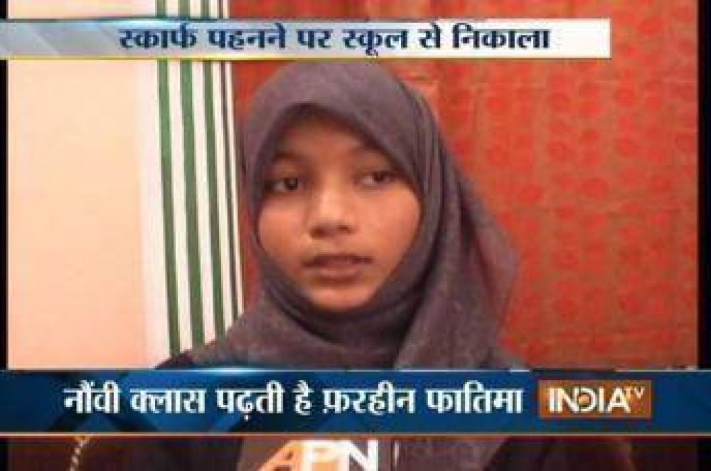 Prohíben el ingreso a clase a una alumna musulmana en India