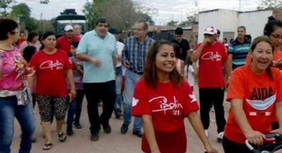 Cipolini y sus pares de Vamos Chaco avanzan con su campaña por la Termal