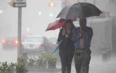 Alerta meteorológico en gran parte de la Provincia