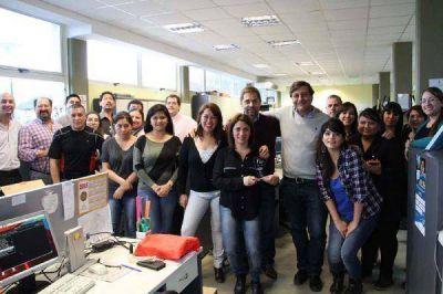 Premio a la innovación: Sciurano felicitó a los empleados municipales por el logro obtenido