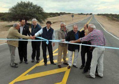Jorge inauguró tramo de la Ruta de la Cría