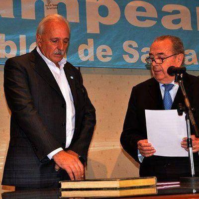Producción: Goyeneche asumió como ministro
