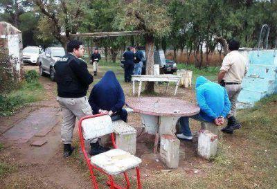 Megaoperativo policial: seis detenidos