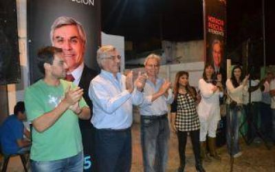 Pascual y Alegre inauguraron local del Frente Renovador en General Villegas