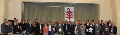 Comisión Episcopal de Pastoral Social (por separado) con empresarios, Stolbizer y De Gennaro