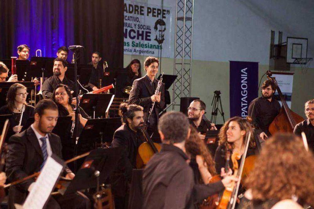 La Sinfónica Patagonia brilló en El Bolsón y Bariloche
