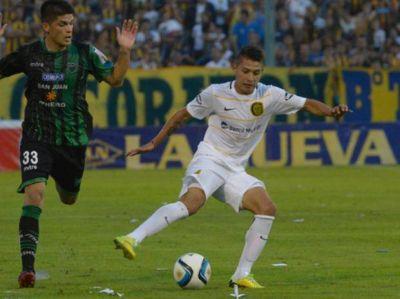 Víctor Salazar está dando los primeros pasos en la primera de Central