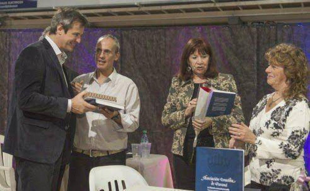 Entre Ríos: El ministro Bahl participó de la presentación del libro sobre el centenario de la comunidad judía en Paraná
