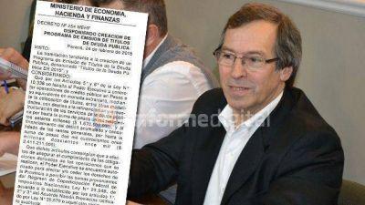 Entre Ríos tiene un nuevo programa de endeudamiento