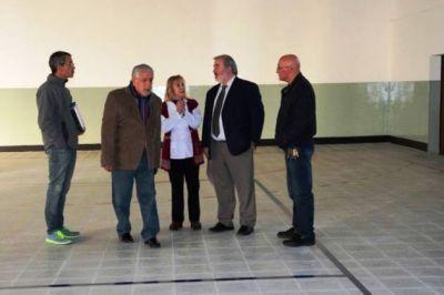 Zárate destacó la inversión en infraestructura educativa que se ejecuta en la ciudad