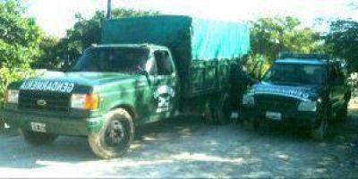 Narcos operan en Formosa y poseen lugares de acopio en la provincia
