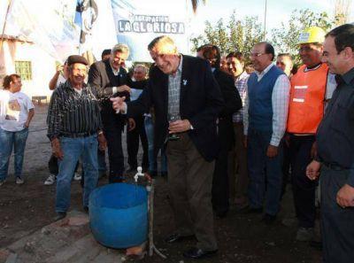 Invirtieron $4,7 millones para llevar agua a Rawson