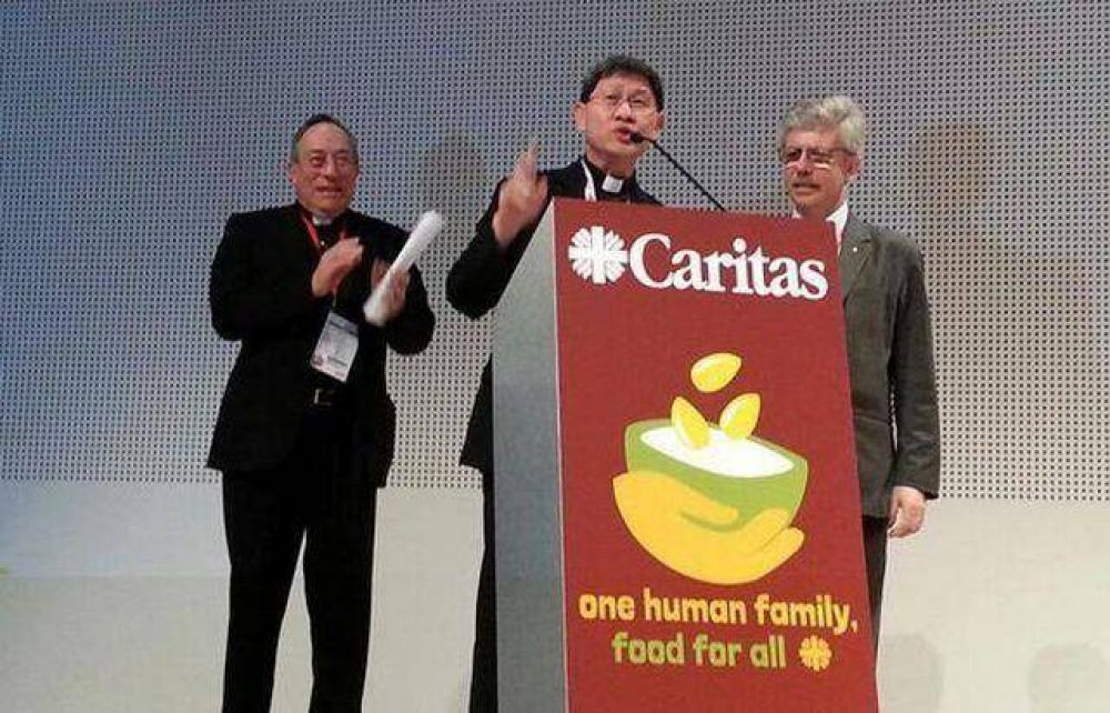 El cardenal Tagle arranca como nuevo presidente de Caritas Internationalis
