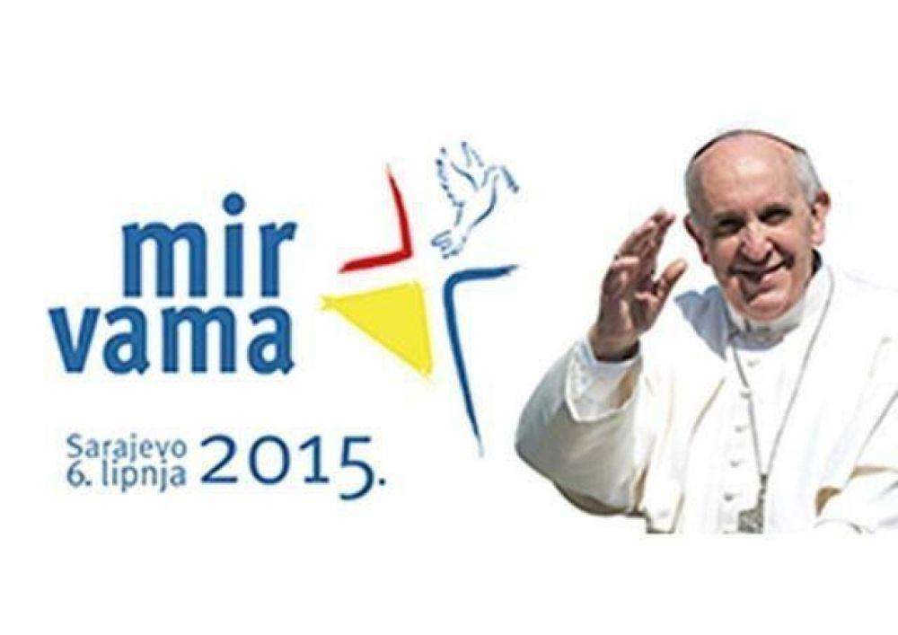 """""""Sarajevo: Con el papa Francisco viene la paz"""""""