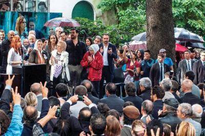 Buzzi particip� de la inauguraci�n del Sitio de Memoria en la ex ESMA