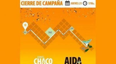 Vamos Chaco cierra su campaña con caminata y acto