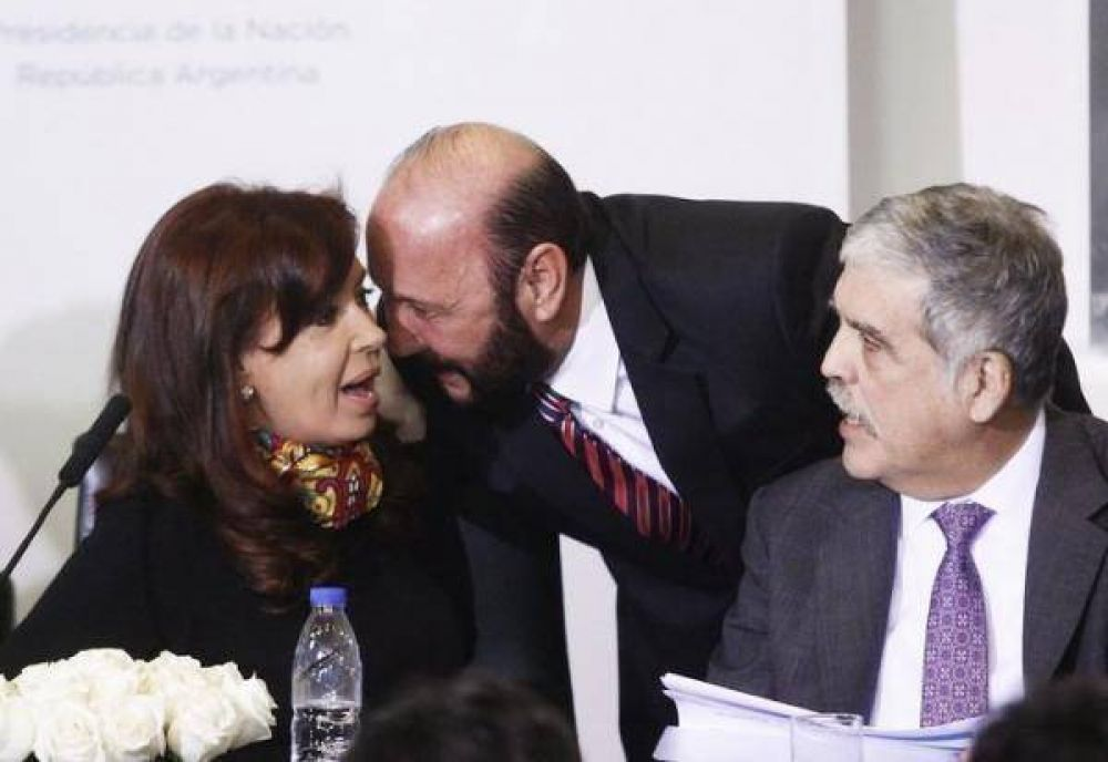 Gildo Insfran acompaño a la presidenta Cristina Kirchner en el acto de estatización de los ferrocarriles