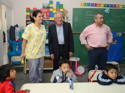 Visita del gobernador a La Esperanza