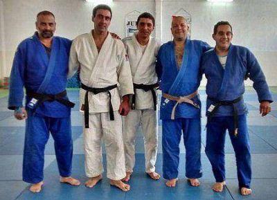 Cuatro puntanos a la Selección Master de Judo