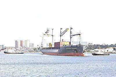 Los gremios del puerto alertan que est�n en crisis y exigen respuestas