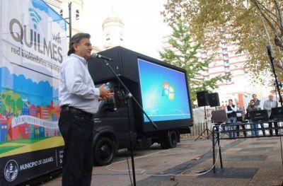 Wifi gratis en plazas de Quilmes