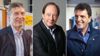 Macri, Sanz y Massa llegan a Tucumán de candidatos