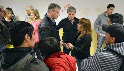 Eliceche y Zonza Nigro se reunieron con vecinos del barrio Santa María del Mar de Puerto Madryn