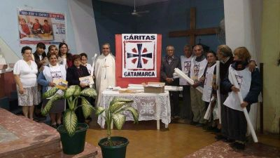 Cáritas Catamarca prepara la Colecta Anual