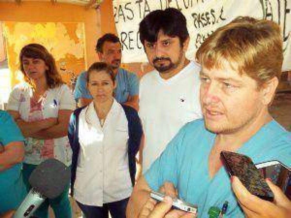 Piden intervención del hospital de Villa Ángela y denuncian amenazas y aprietes