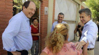 Macri viajó con Sanz a Tucumán para sellar su alianza electoral con el radical José Cano
