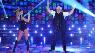 Con un discurso político y al ritmo de la Marcha Peronista, Alberto Samid debutó en el Bailando