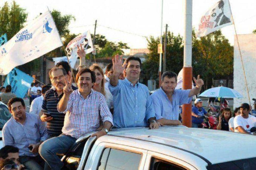 Chaco cerró la campaña electoral, marcada por una fuerte polarización