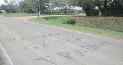 Elecciones 2015: Más pintadas contra Pángaro