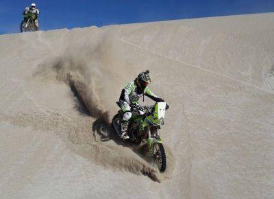 Martín Duplessis se mantiene octavo en la general del Dakar Series