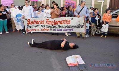 Marcharon por el femicidio de Librada Haedo