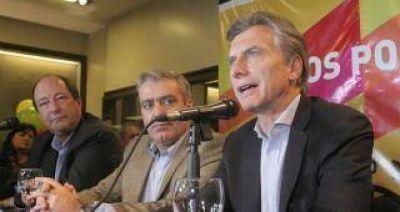 El candidato del PRO compartió una conferencia con el radical Ernesto Sanz y con el postulante a gobernador del Acuerdo Cívico