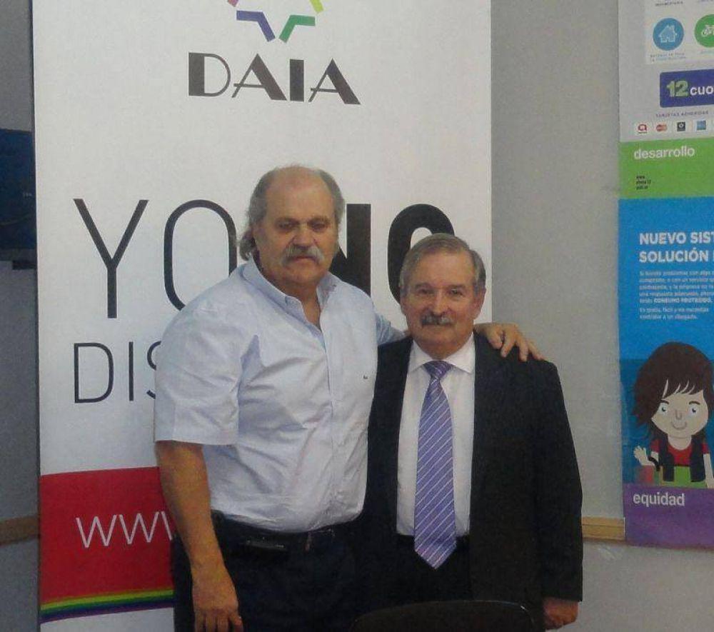 El ministro de Seguridad de la provincia de Buenos Aires visitó la DAIA