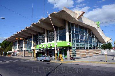 Nuevas obras en el estacionamiento de la Terminal