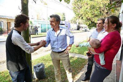Macri timbreó en Ituzaingó