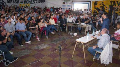 Busti y Zavallo ratifican frente massista y quieren