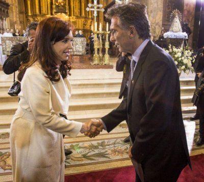 Cristina participará del Tedeum en Luján y Macri en la Catedral Metropolitana