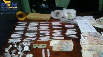 Taxista detenido por transportar droga en su vehículo