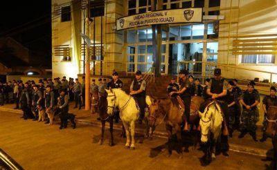 """""""Megaoperativo"""": Detenidos; motos, autos y licencias secuestrados"""