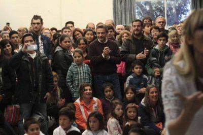 El Intendente participó de los festejos por los 125 años de la Escuela Nº 8