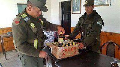 Narcotráfico – Gendarmería incautó más de 35 kilos cocaína líquida y sólida
