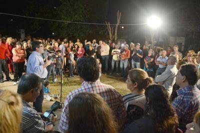 Halle reafirmó su postulación a la intendencia de Paraná