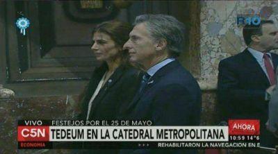 Macri, sobre los dos Tedeum: