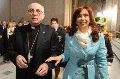 Radrizzani destacó las tareas de refacción que devolvieron a la Basílica de Luján